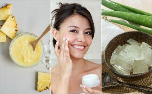 شد بشرة الوجه - كافحي الترهل بهذه الوصفات العلاجية الطبيعية الخمس