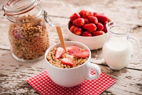 تناول وجبة إفطار جيدة