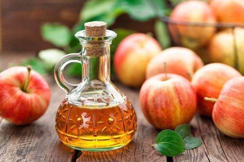 خل التفاح لـ علاج عدوى الخميرة الفطرية