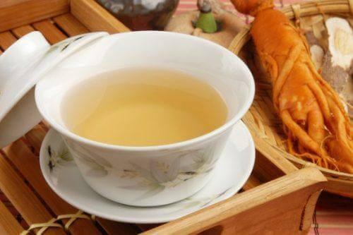 شاي الجينسنغ لتخفيف حالة التهاب المعدة