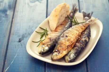 عنصر اليود في السمك