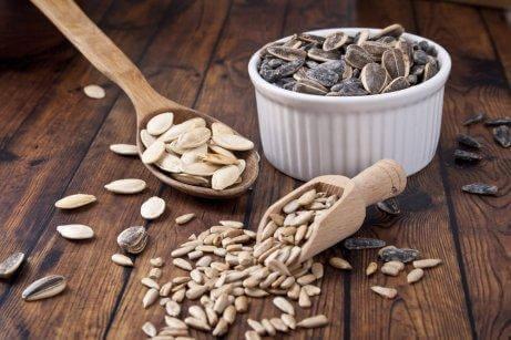 الحبوب والبذور