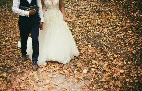 حفل زفاف شتوي