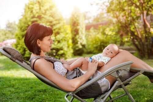 نصائح مساعدة عند ولادة طفل في فصل الصيف