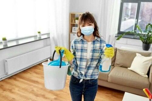 تعقيم المنزل - توصيات تساعدك على تنظيف منزلك جيدًا وتجنب العدوى