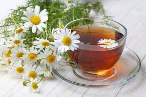 أكياس شاي الكاموميل