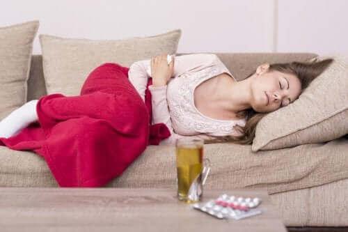 علاجات طبيعية لآلام الدورة الشهرية