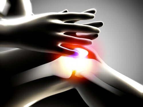 أشعة سينية لركبة مصابة بالتهاب المفاصل التنكسي