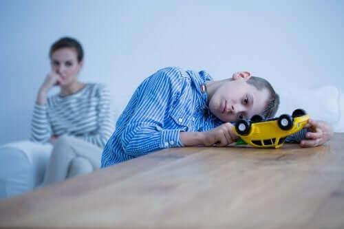 المرض العقلي بين الأطفال وأعراضه