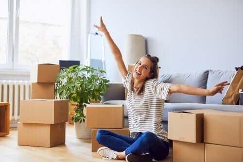 الانتقال إلى منزل جديد مع الشريك دون الكثير من الضغط النفسي