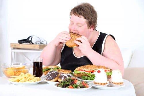 زيادة الوزن والسمنة