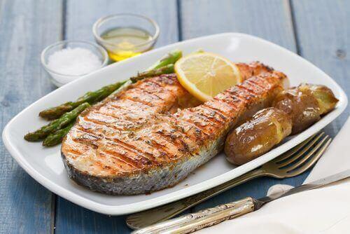 طبق سمك - الزئبق في الأسماك