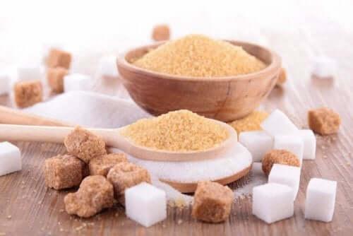 السكر البني