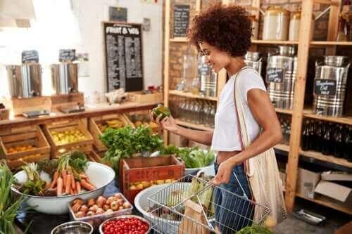 لون الطعام وقيمته الغذائية