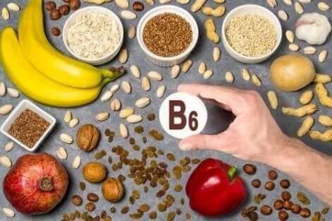 احتياجات الجسم من فيتامين ب6