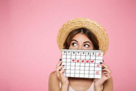 تزامن الدورات الشهرية للنساء