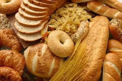 خبز وباستا