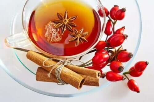 فوائد شاي وردة المسك