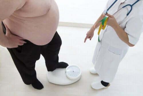 السمنة وزيادة الوزن