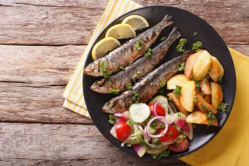 ثلاث فوائد رئيسية لأسماك السردين