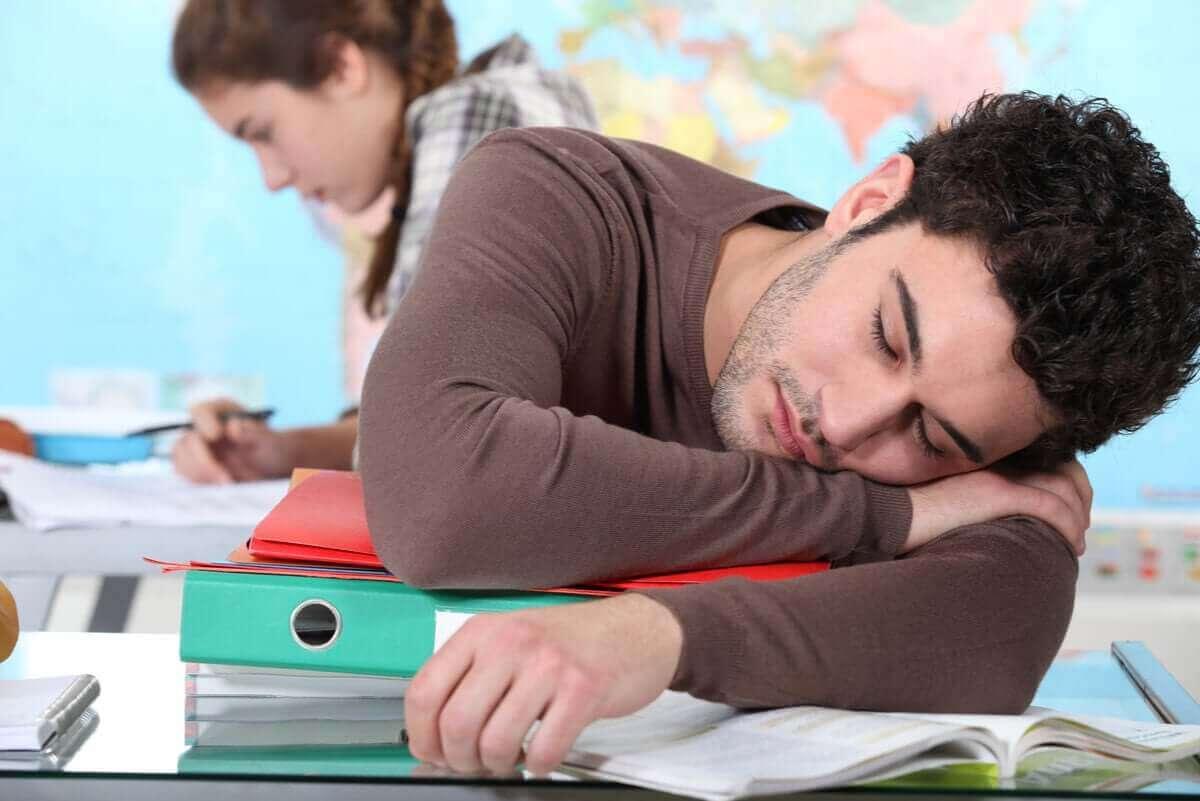 أنواع ودرجات النوم القهري