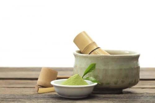 خصائص شاي الماتشا