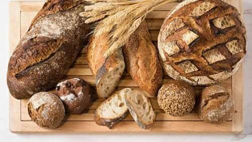 أنواع خبز