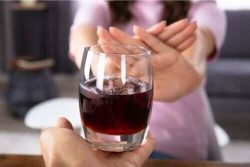 تقييد الكحول أثناء الحمل