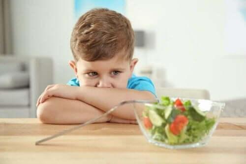 اضطرابات الأكل الأساسية لدى الأطفال المصابين بالتوحد