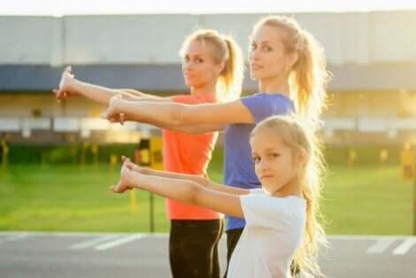 فوائد تمارين كروس فت البدنية للأطفال