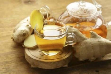 شاي نبات الزنجبيل