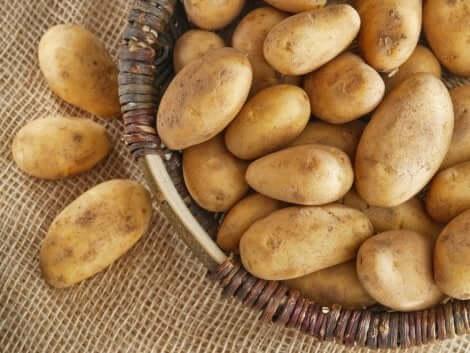 مجموعة من البطاطس