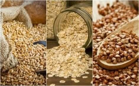 أنواع من الحبوب
