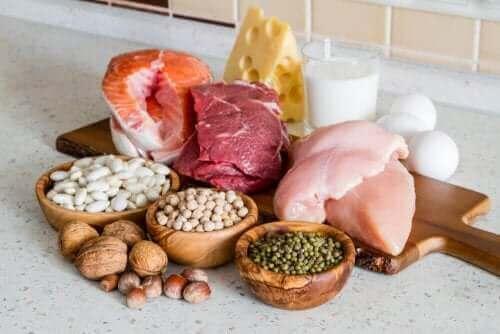 من بين الأطعمة المناسبة للحمل مجموعة من البروتينات الخالية من الدهون