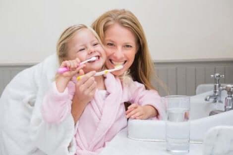 تعزيز نظافة الفم