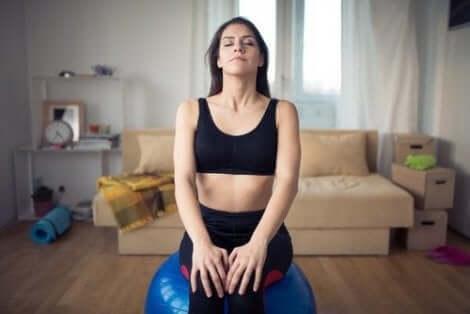 تمارين التنفس لتحسين جودة النوم