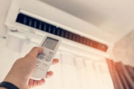 تنظيم درجة حرارة المنزل