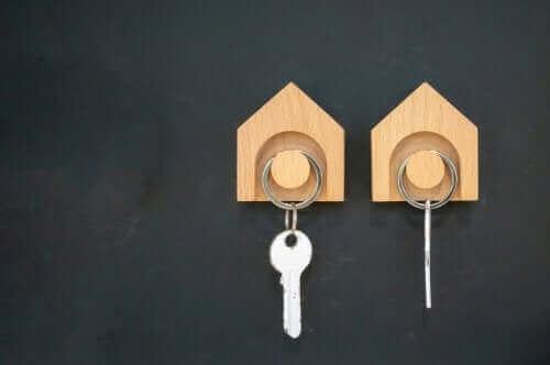 حمالة مفاتيح - تنظيم المنزل