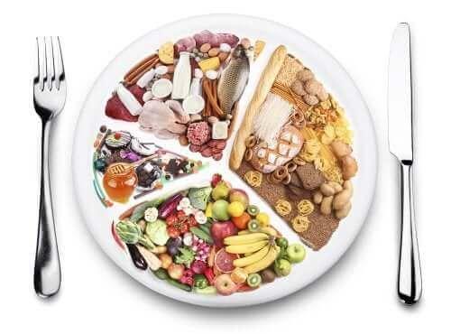 حمية غذائية متوازنة