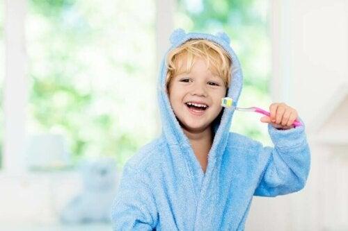 تعزيز نظافة الفم عند الأطفال