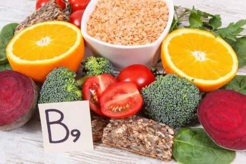 أطعمة غنية بفيتامين ب9