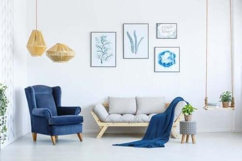 عناصر تزيينية لزيادة الشعور بالدفء والراحة في المنزل