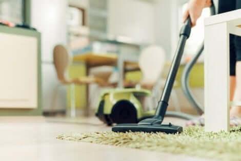تنظيف العناصر المنزلية
