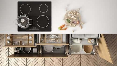 أفكار تساعدك على تنظيم مطبخك بفعالية