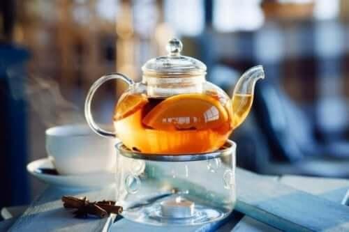 شاي البرتقال
