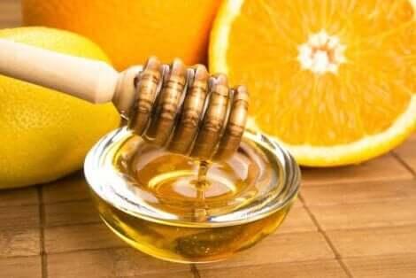 البرتقال والعسل