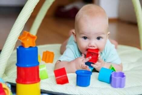 كيف يتطور نظر الأطفال حديثي الولادة